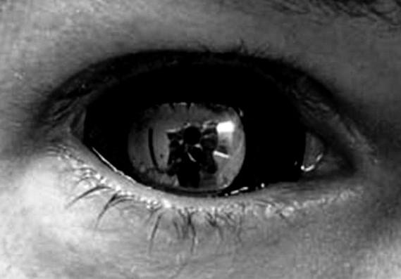 Черные светоотражающие контактные линзы