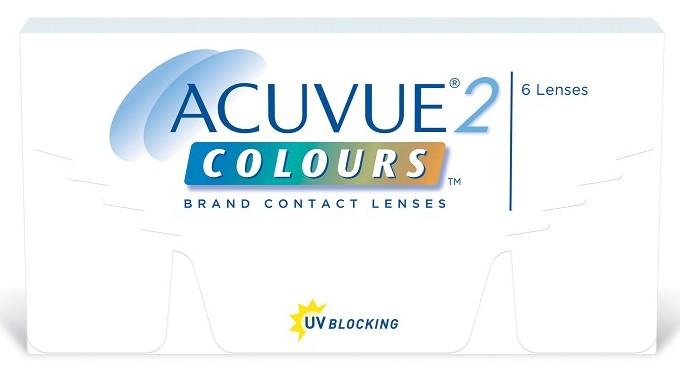 Линзы от производителя Acuvue