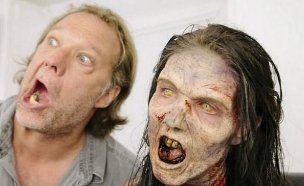 Зомби из фильма «Ходячие мертвецы»