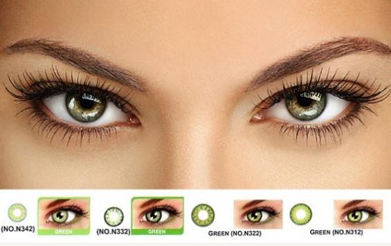 Цветные контактные линзы нельзя использовать ночью