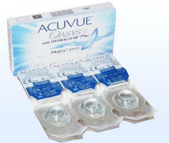 Блистеры Acuvue в 1 упаковке