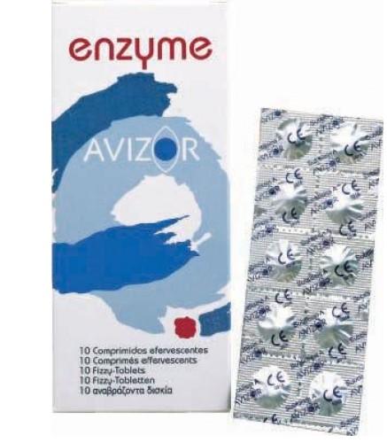 Ферментные таблетки для очистки контактных линз