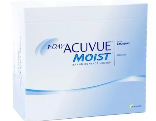 Линзы acuvue moist 1 day