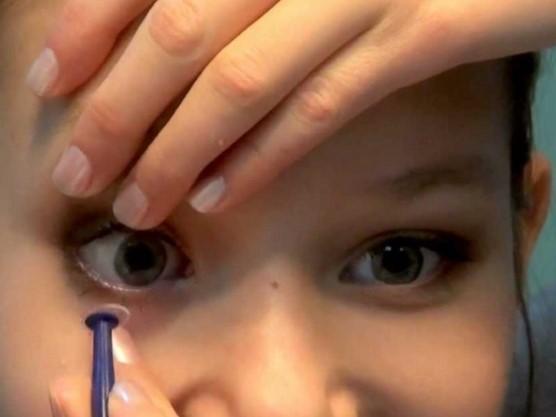 Присоска для контактных линз