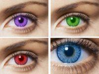 Вредны ли цветные линзы для глаз