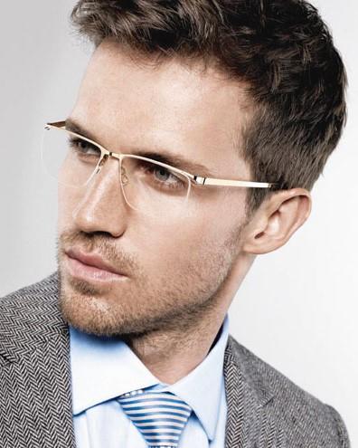 Мужские безободковые очки