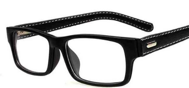 Мужские очки из кожи