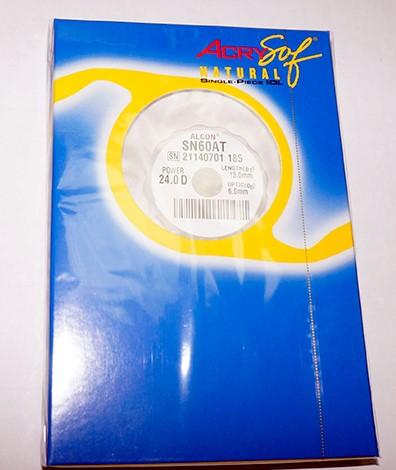 Упаковка линз AcrySoft IQ Natural