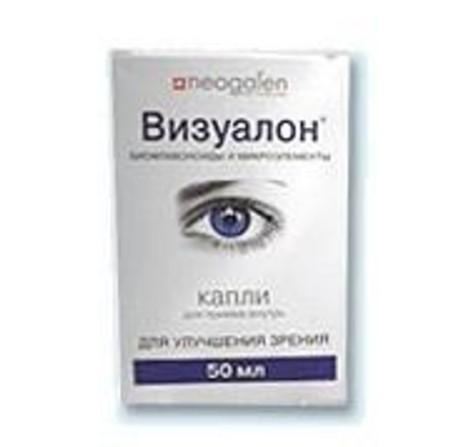 Витамины для глаз Визуалон - это комплексный препарат для защиты зрения