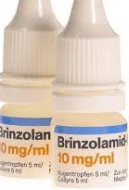 Форма выпуска капель для глаз Бринзоламид