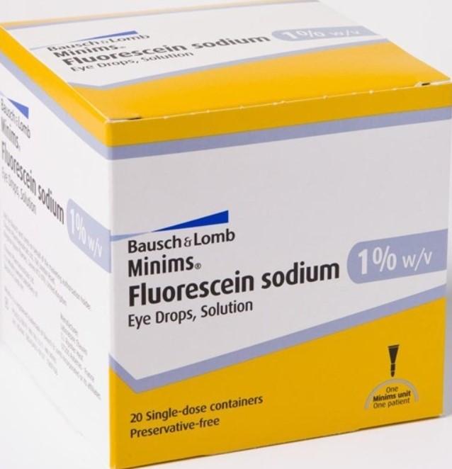 Раствор Флуоресцеин натрия