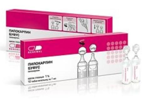Капли против воспаления Пилокарпин буфус