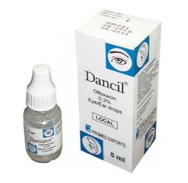 Глазные капли Данцил - это антибактериальное средство