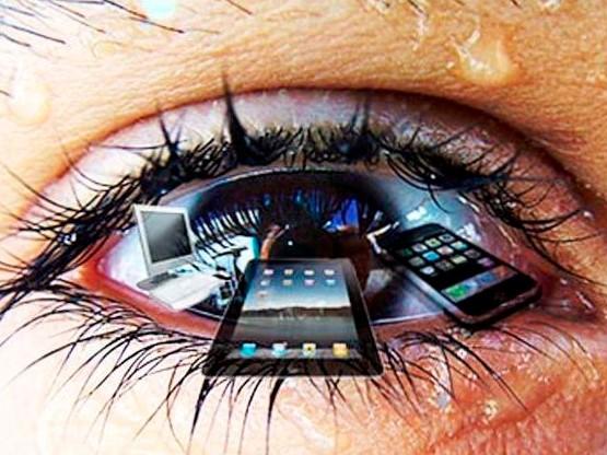Красные глаза от работы за компьютером