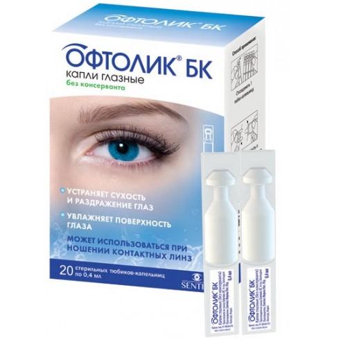 Офтолик глазные капли