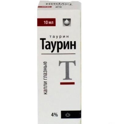 Глазные капли Таурин - это противокатарактное средство