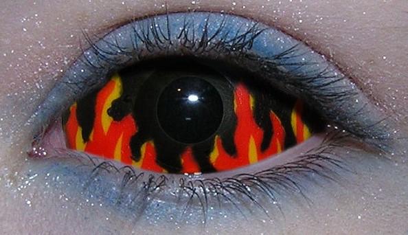 Огненные склеральные линзы