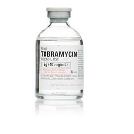 Тобрамицин глазные капли