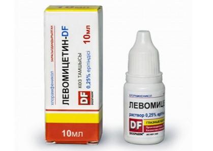 Глазные капли Левомицетин - это эффективный антибиотик широкого спектра действия.