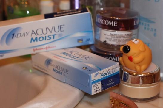 Радиус кривизны контактной линзы на упаковке