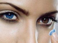 Цветные линзы для карих глаз