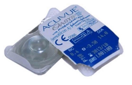 Упаковка линз Acuvue