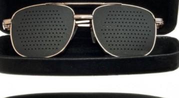 Как вернуть зрение очками с дырочками
