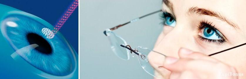 Коррекция зрения с помощью технологии Super Lasik