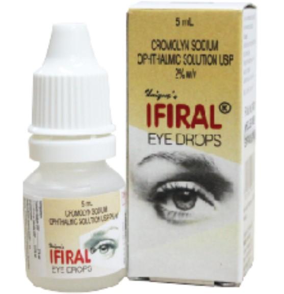 Глазные капли Ифириал от усталости и сухости глаз