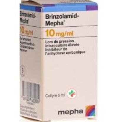 Противоглаукомное средство Бринзоламид