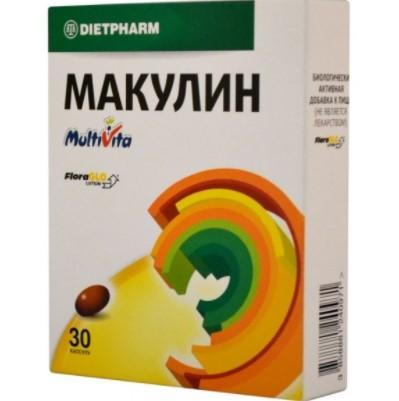 Капсулы Макулин применяются в качестве добавки