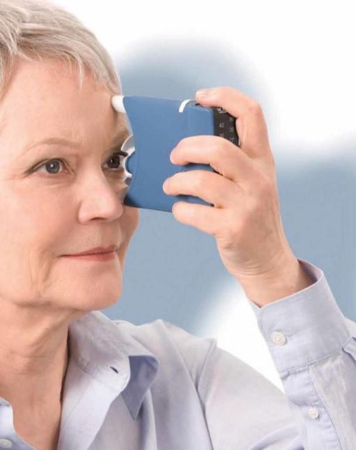 Персональный бесконтактный тонометр для глаз