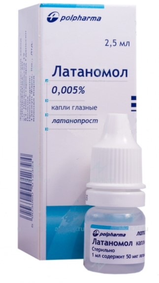 Капли для снижения давления Латаномол